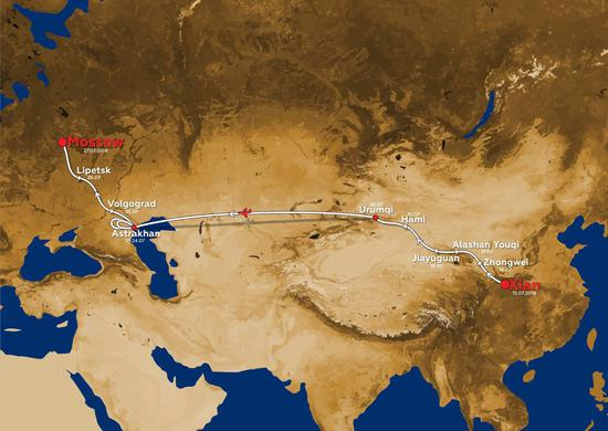 2018丝绸之路拉力赛路线公布 跨六千公里共10赛段
