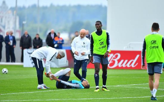 法国利好!姆巴佩伤势无碍世界杯 今日已恢复训练