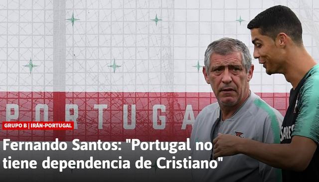 桑托斯:葡萄牙国家队没有C罗依赖症