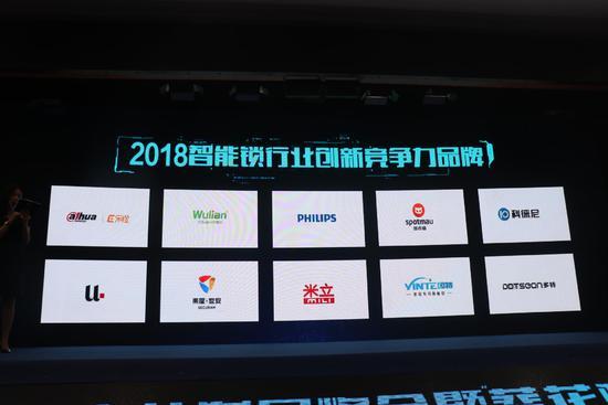 2018葵花奖 创新驱动未来 2018智能锁行业创新竞争力品牌揭晓