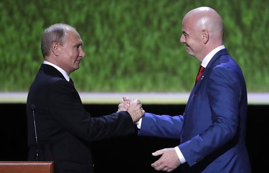 普京:世界杯消除了人们对俄罗斯的偏见和负面印象