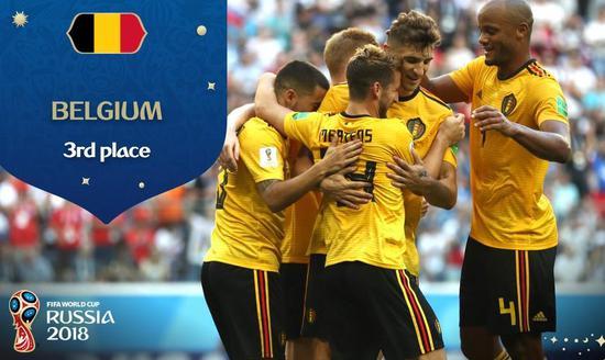 比利时险创神奇纪录!队内10人破门 世界杯史上第3