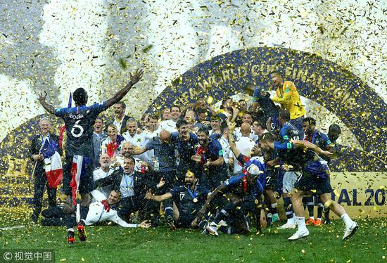 """双王4个2拆开打,法国龟缩大法换来冠军!世界杯沦为比谁更""""苟""""的战斗"""
