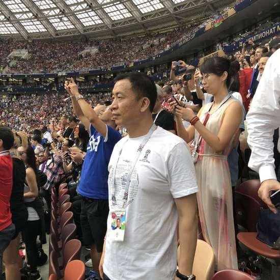 真爱!国安老板现场看世界杯决赛 当天去当天回