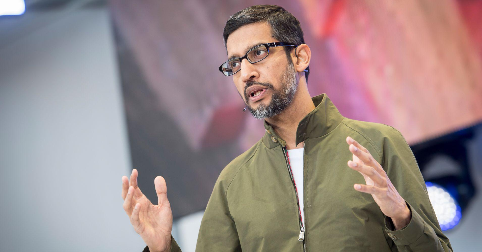 欧盟重罚谷歌50亿美元皮查伊回应 安卓或将收费?