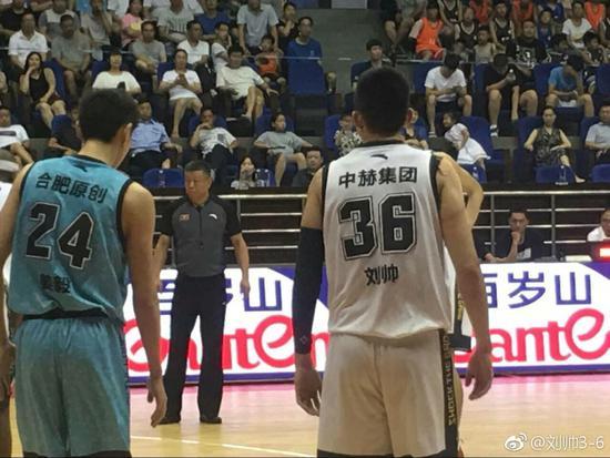 霍楠与刘帅