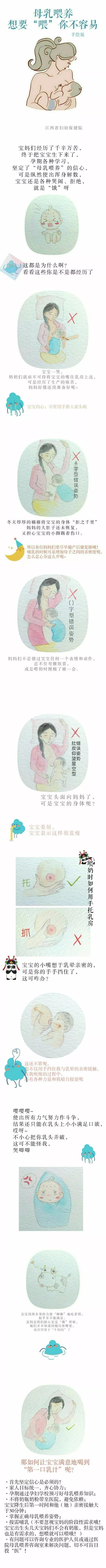 """江西省妇幼保健院:""""手绘宝典""""详解母乳喂养误区"""