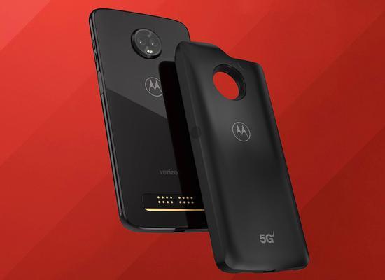 摩托罗拉与美国运营商Verizon推出首款5G智能手机