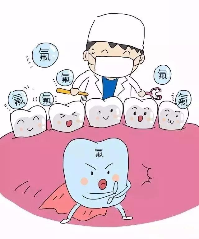 """给宝宝牙齿穿上看不见的""""氟铠甲"""",妈妈更放心"""