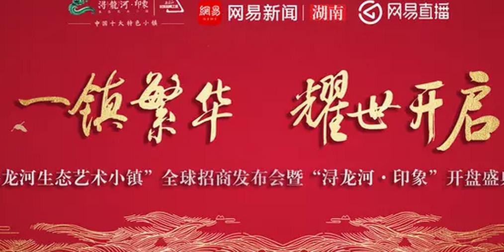 """""""浔龙河生态艺术小镇""""全球招商发布会盛大开启!"""