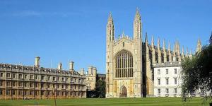 免除学费和生活费 剑桥大学计划为贫困生设全奖