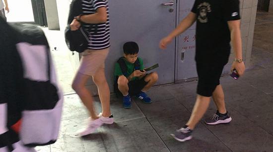Chinajoy现场随处可见孩子的身影
