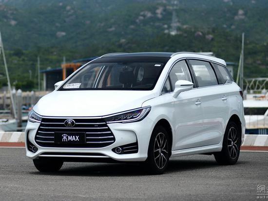 MPV车型宋MAX的加入,让宋家族的产品谱系进一步扩大