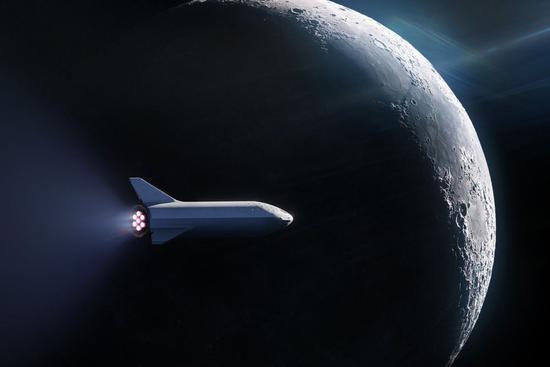 SpaceX绕月飞行旅行签下首位乘客:何时升空未知
