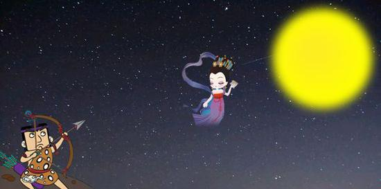 双语:嫦娥奔月竟是个令人心碎的故事