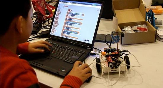 重庆编程?z+?_重庆中加强小学编程教育:3-6年级累计不少于36课时