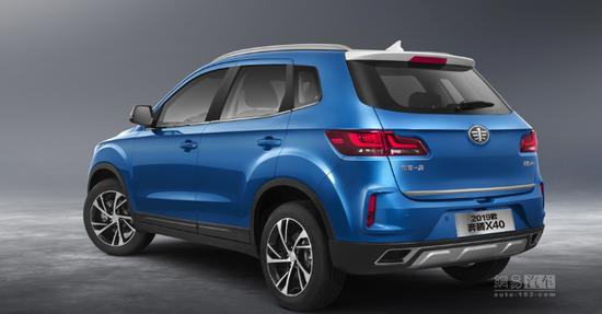 售6.98萬起 2019款奔騰X40/X40 EV上市