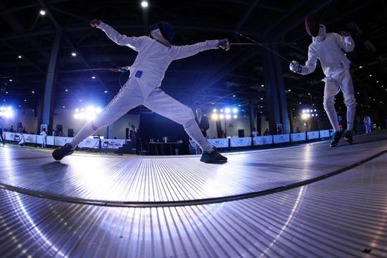 中国击剑俱乐部联赛分站赛 总参赛人次超1.3万