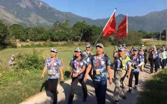 红色|穿越潮州梅州,2000多名驴友徒步这条红色革命古道