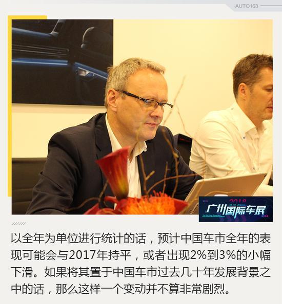 冯思翰:大众明年将在华推出3款纯电动车型