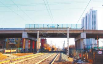 哈牡电气化铁路滨绥线K9公铁立交
