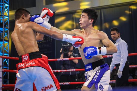 一带一路中国-东盟拳王赛落幕 中国拳手获3冠