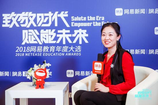 华清园杜馨衡:努力在培训教育行业成为一个有温度的企业