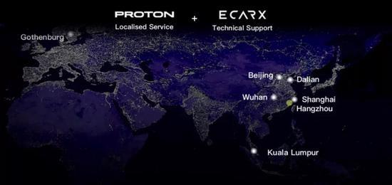 針對馬來西亞市場打造 寶騰X70搭GKUI系統