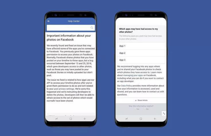 FB承认发现新安全漏洞 680万用户私人照片遭泄