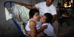 墨西哥10个月大婴儿重达56斤