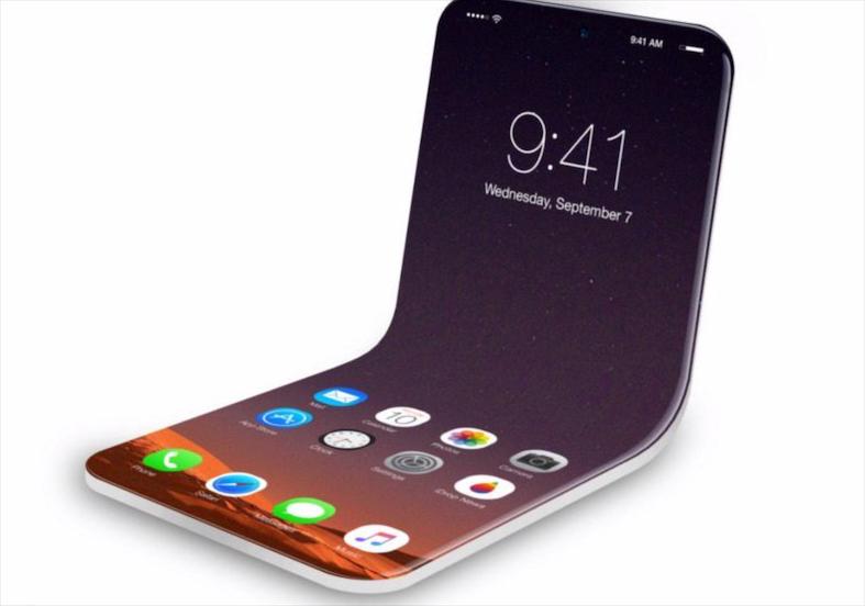 苹果正在开发可折叠iPhone?已申请相关专利