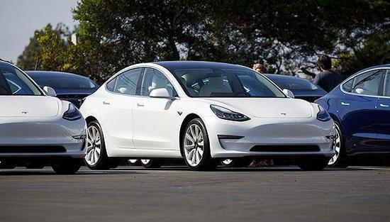 外媒:特斯拉Model 3在美库存超3000辆