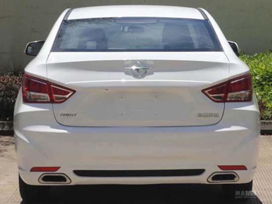 尺寸升级 一汽海马新款福美来轿车申报图