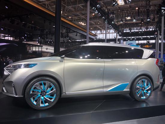 福美來F5領銜 一汽海馬攜4款車型亮相北京車展
