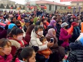兰州战役纪念馆巡展走进榆中乡村文化大舞台