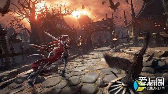 虚幻4开发韩国动作游戏《刀锋战记2》将推手游