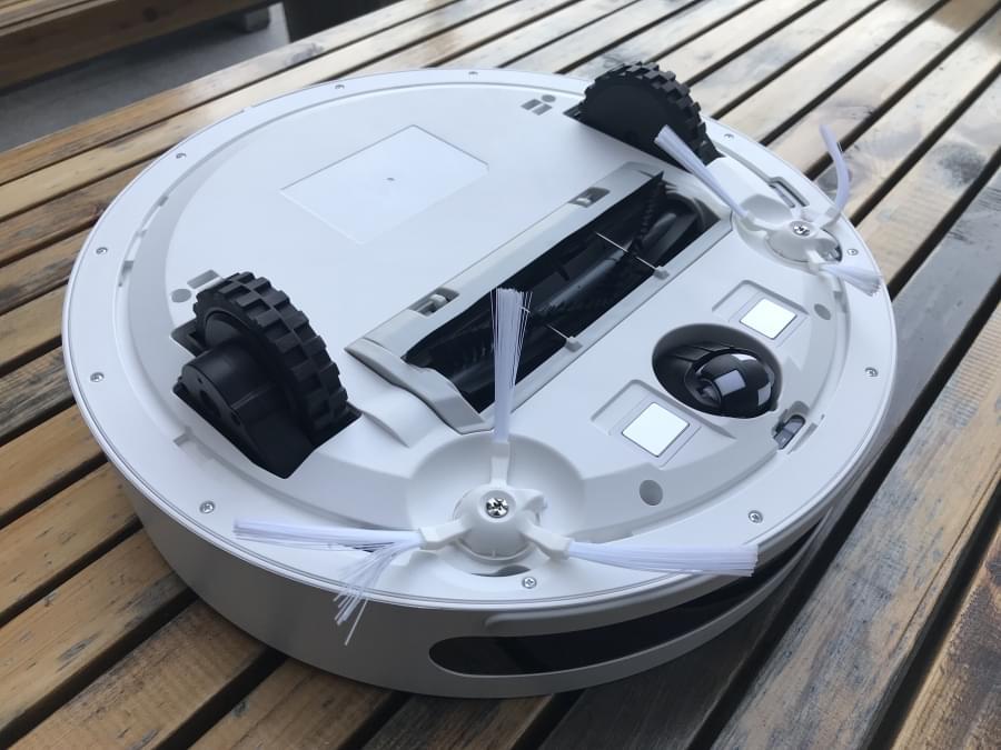 开箱评测360扫地机器人 配备激光雷达颜值高