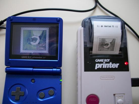 煞有介事的微型打印机