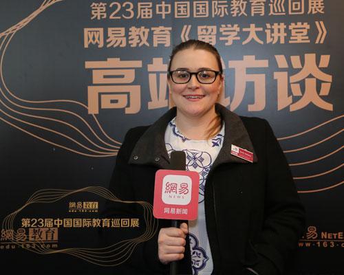 英国中央兰开夏大学Sarah:积极响应中国政府的号召持续推动中英人文交流