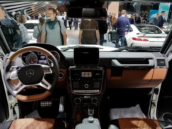 奢华感进一步提升 AMG G级特别版亮相