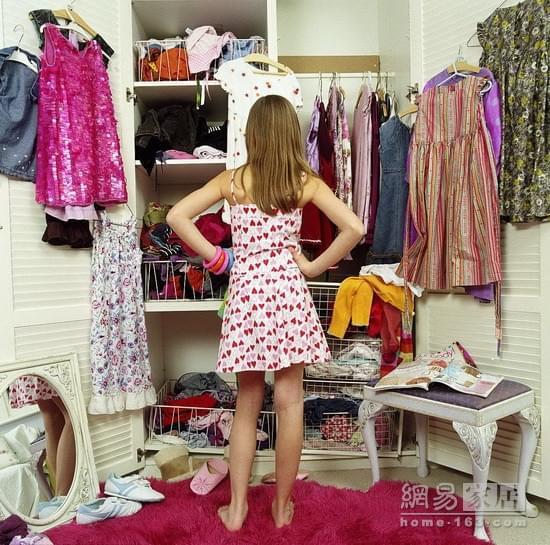 女神都爱这样的衣柜 再买100件衣服也能轻松装下