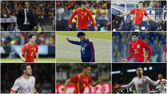 西班牙将直接公布23人名单:已敲定20人+剩余6选3