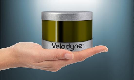 百度投资激光雷达公司Velodyne LiDAR的照片