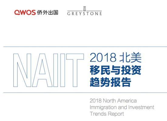 《2018北美移民与投资趋势报告》重磅发布