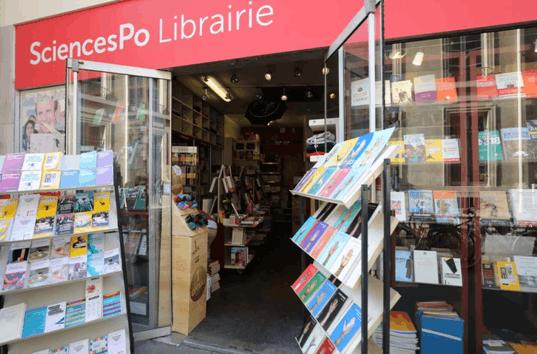 巴黎政治学院校内书店(摄影:周成刚)