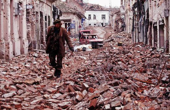 1991年,克罗地亚的武科瓦尔