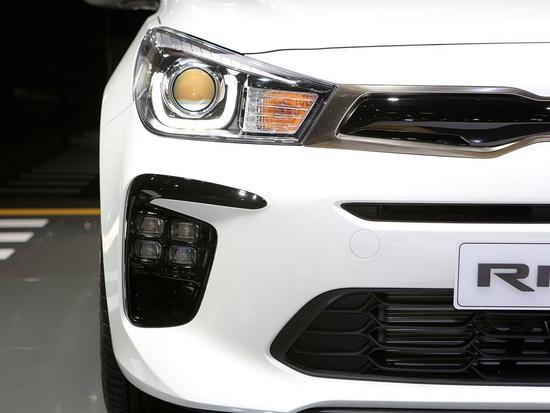 扩展运动车系产品线 起亚Rio GT-Line亮相