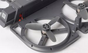 一秒展开 便携无人机iDol评测