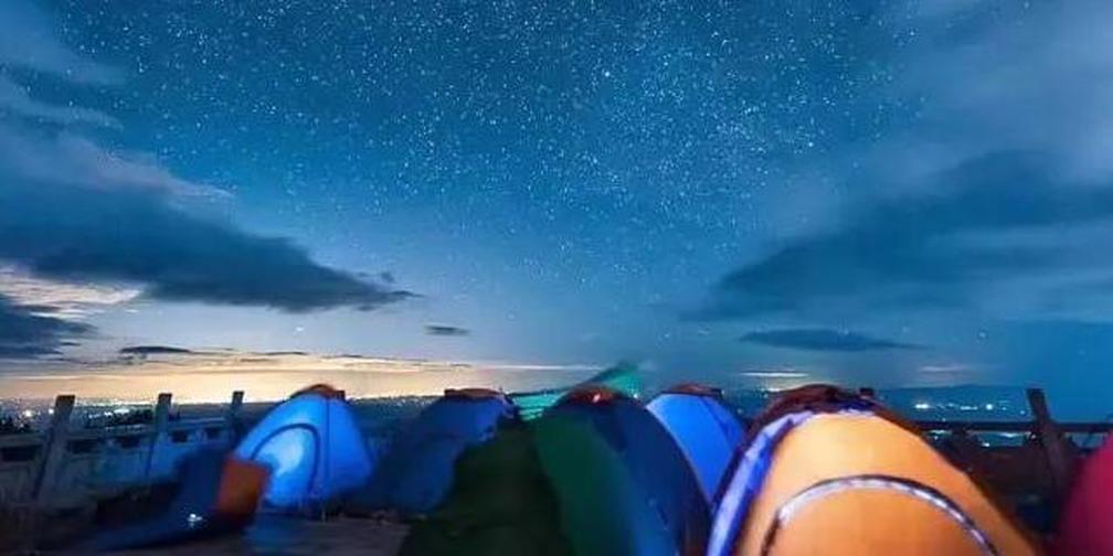 双星座流星雨划过南岳夜空 来最佳观星地浪漫一把~