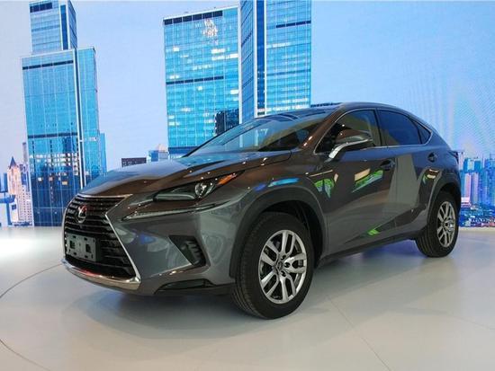 2017成都车展探馆:雷克萨斯新款NX